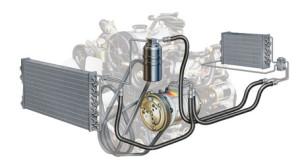 compresor aer conditionat auto